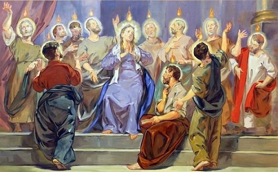 Uroczystość Zesłania Ducha Świętego – 20 maja A.D.2018