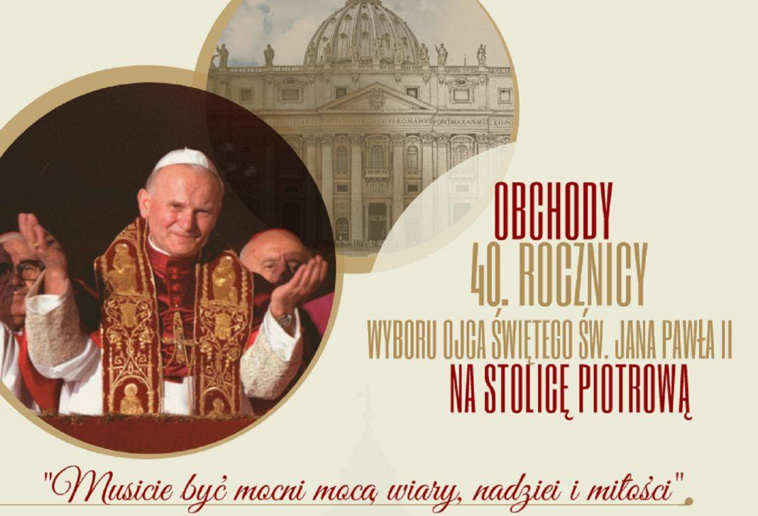 40-lecia pontyfikatu św. Jana Pawła II