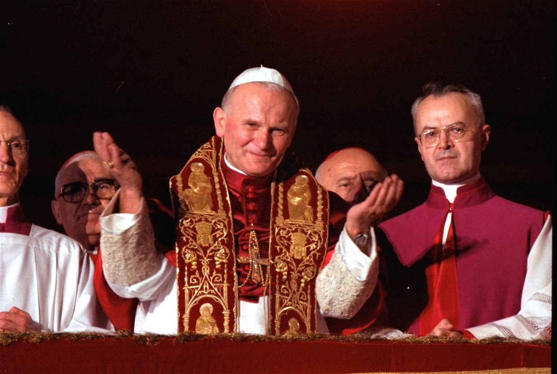 Pontyfikat Jana Pawła Ii Parafia Pw Pierwszych Męczenników