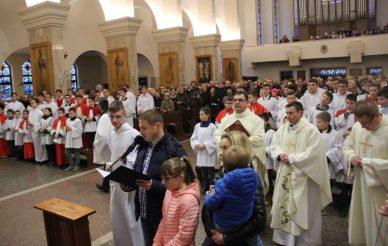 Obraz św. Józefa z sanktuarium w Kaliszu w naszej parafii