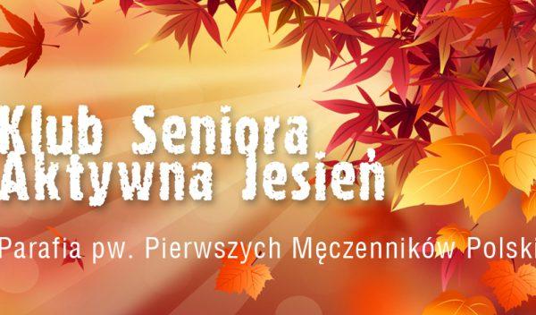 Klub Seniora Aktywna Jesień rozpoczął działalność