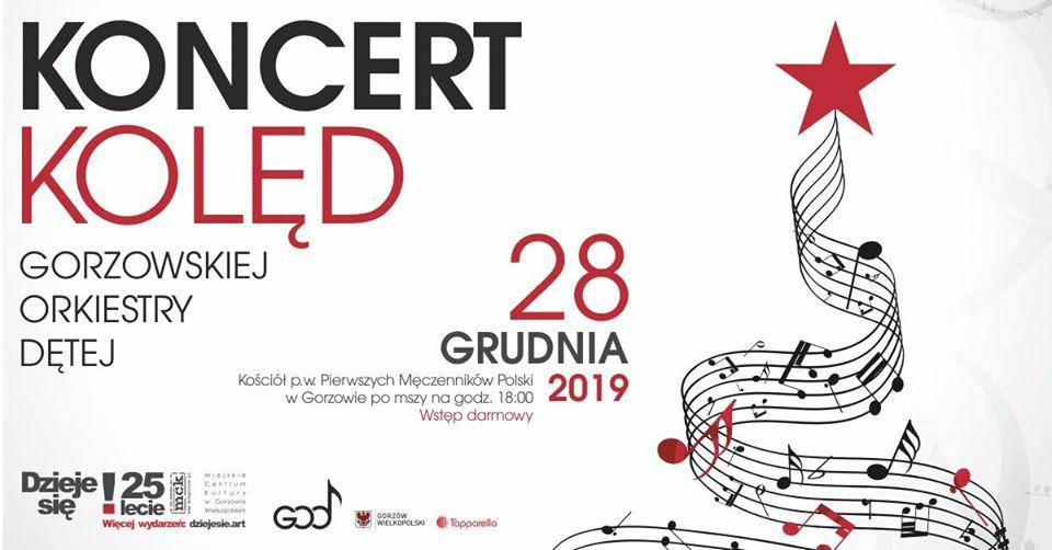 Koncert Kolęd w wykonaniu Gorzowskiej Orkiestry Dętej