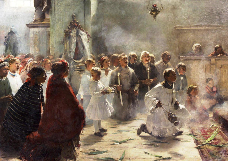 VI Niedziela Wielkiego Postu – 5 kwietnia A.D.2020