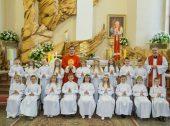 Informacje dot. formy Pierwszej Komunii Świętej 2020