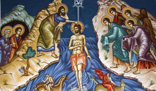 Tajemnica Światła – Chrzest Pana Jezusa w Jordanie